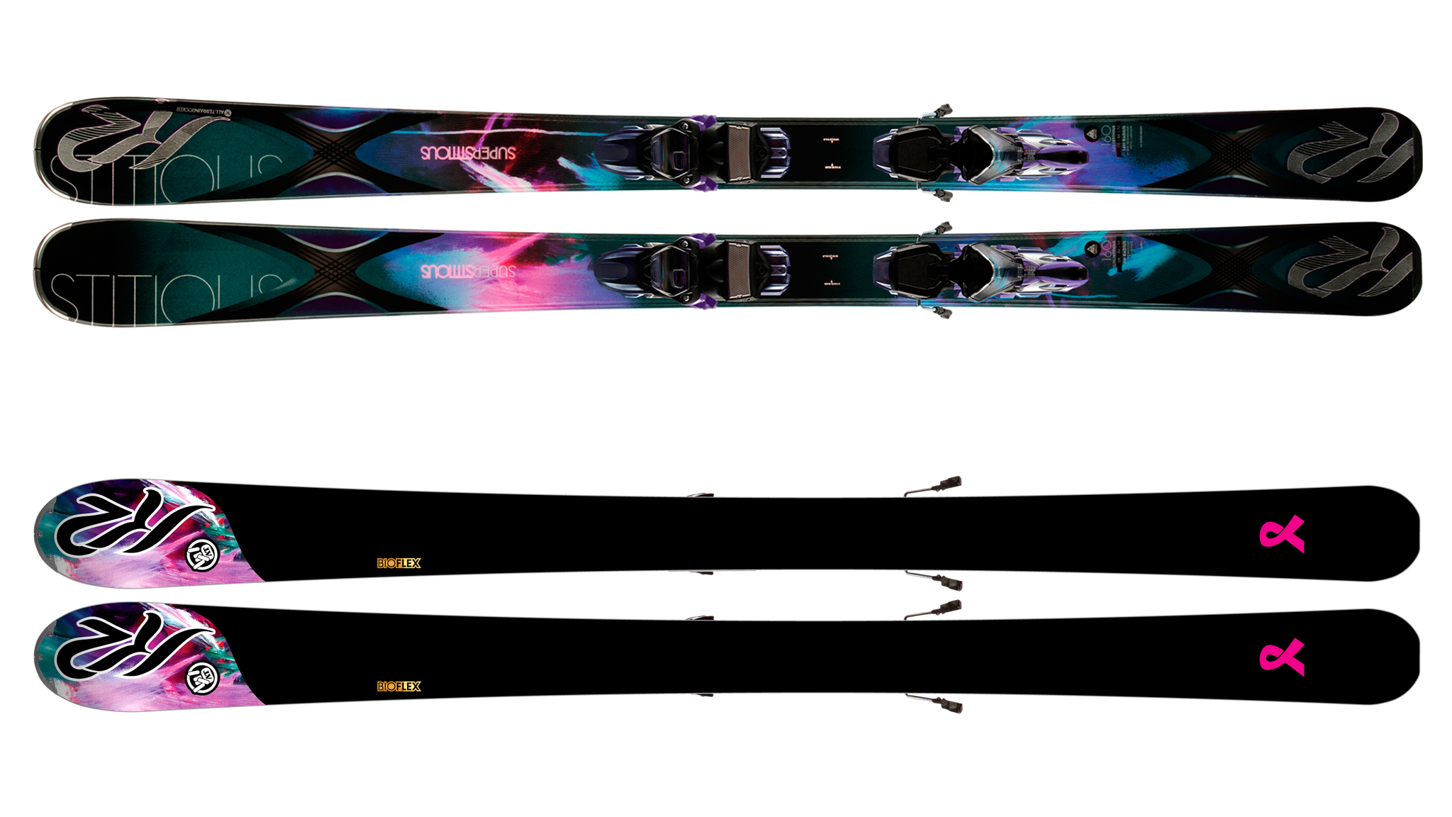 Women's SuperStitious 84 Ski, K2