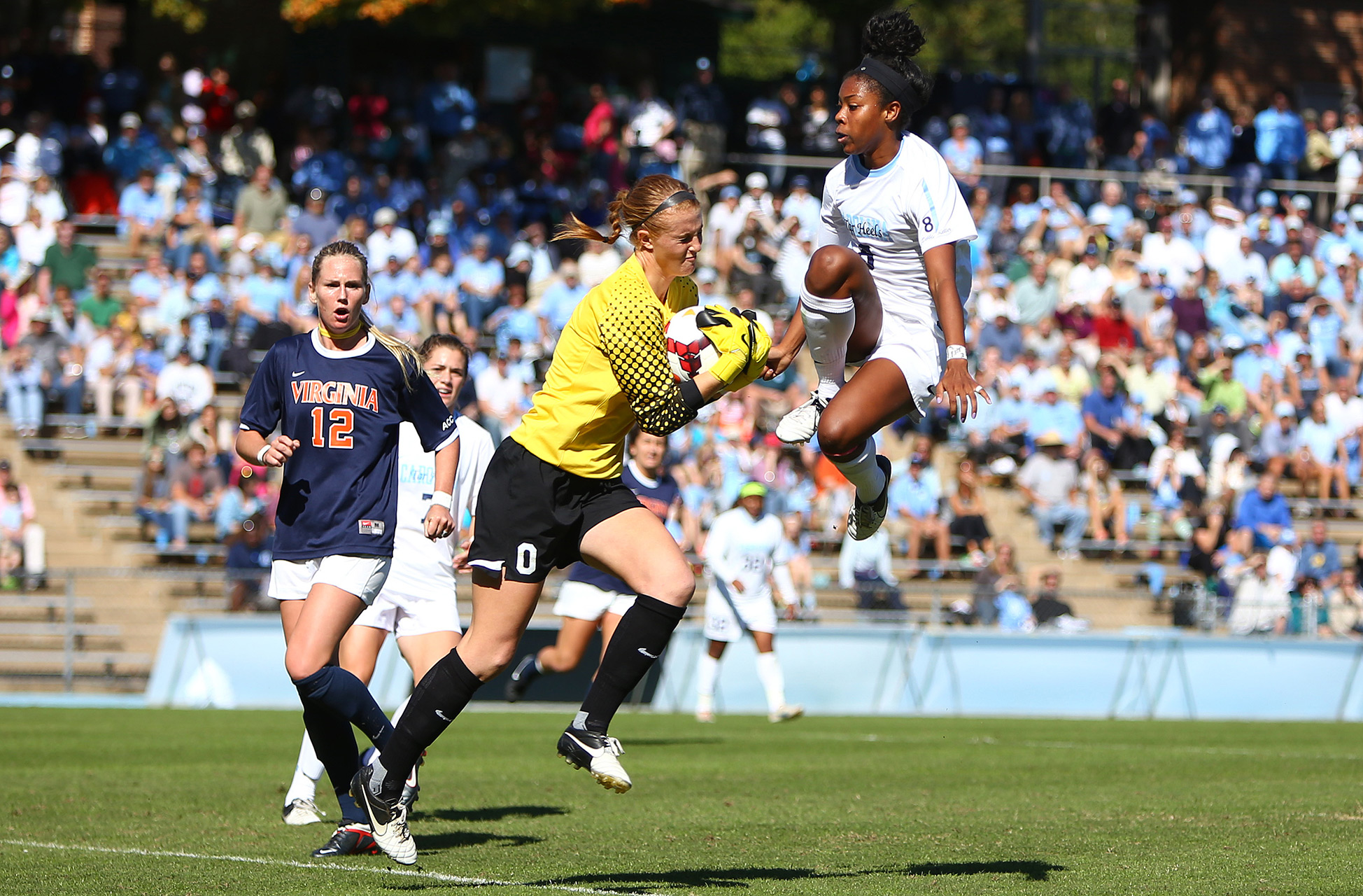 UNC vs. Virginia Soccer