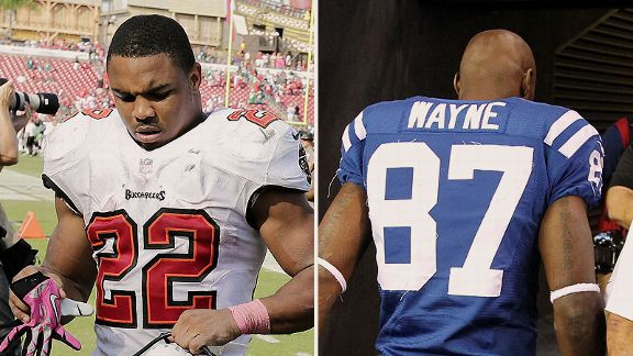 Doug Martin and Reggie Wayne