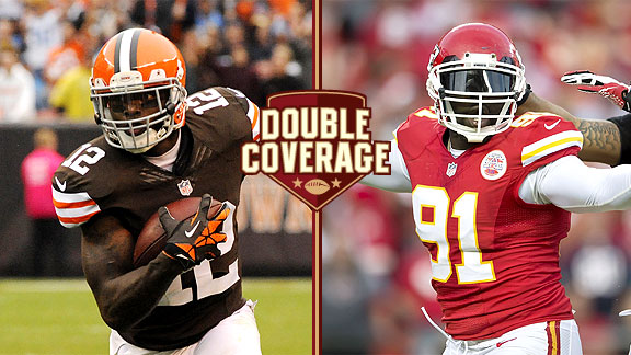 Josh Gordon and Tamba Hali