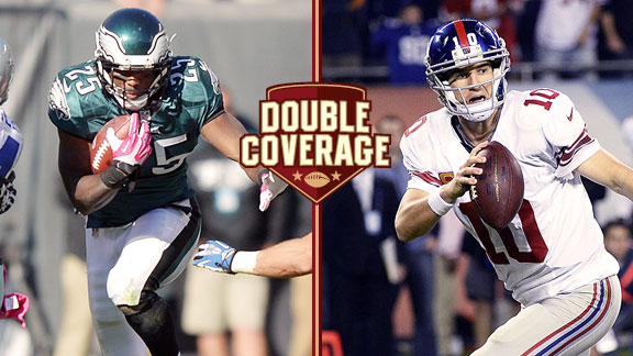 Double Coverage: Giants at Eagles
