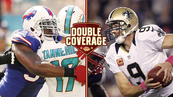 Double Coverage: Bills at Saints