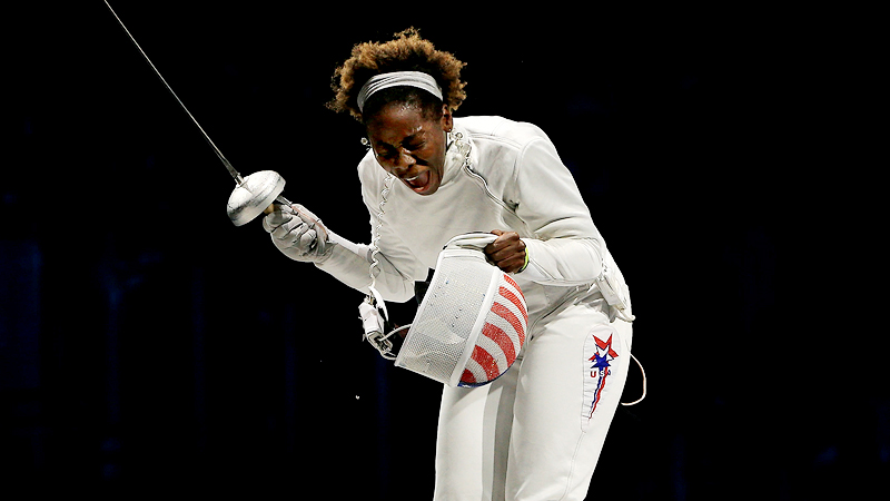 Maya Lawrence, a 2002 Princeton graduate, helped the United States capture the bronze medal in team epee at the London Olympics.