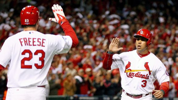 Carlos Beltran and David Freese