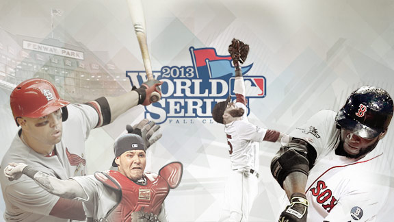 MLB World Series Illustration
