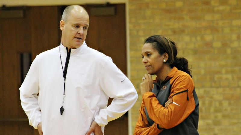 Texas head coach Jerritt Elliott can look to Salima Rockwell to handle just about any situation.