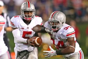 Carlos Hyde and Braxton Miller