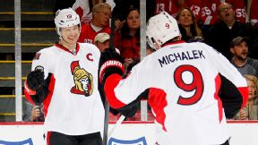 Jason Spezza, Milan Michalek