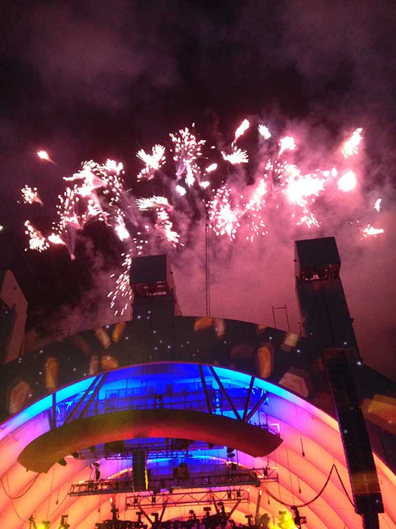 Katy Perry Fireworks