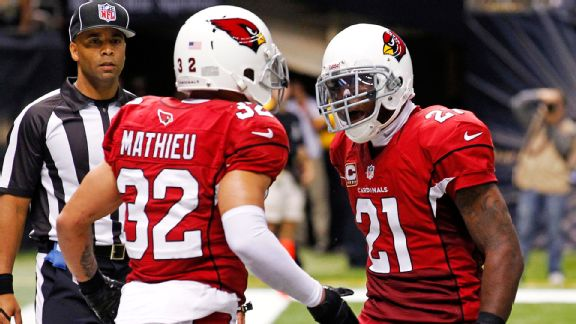 Support from the family of former LSU and current Cardinals teammate Patrick Peterson helped Mathieu prepare to showcase himself to NFL teams.