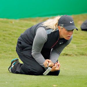 Suzann Pettersen, trying to inch closer to Inbee Park in the rankings heading into the final two LPGA events of the season, leads the Sunrise Championship after a 4-under 68.