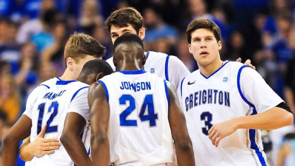 Creighton, led by Doug McDermott (right), boasts one of the nation's most prolific offenses.