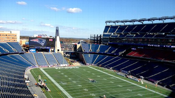 Welcome to Gillette Stadium