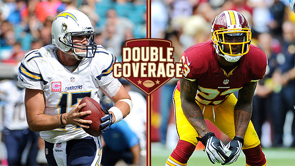 Double Coverage: Chargers at Redskins