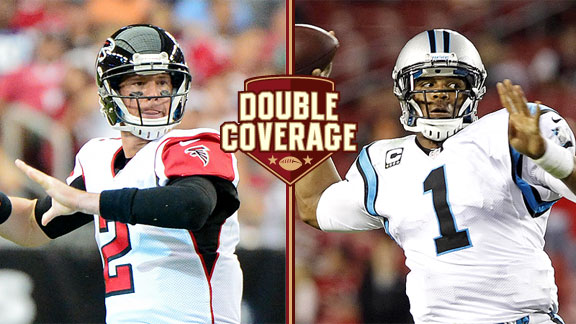Matt Ryan and Cam Newton