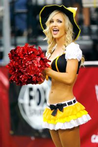Arizona Cardinals cheerleader