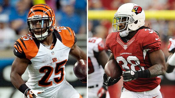 Giovani Bernard and Andre Ellington