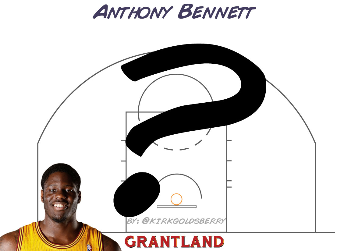 Anthony Bennett chart