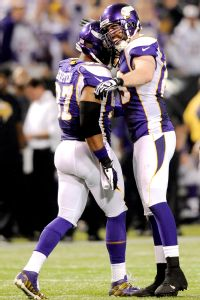 Minnesota's Everson Griffen and Jared Allen