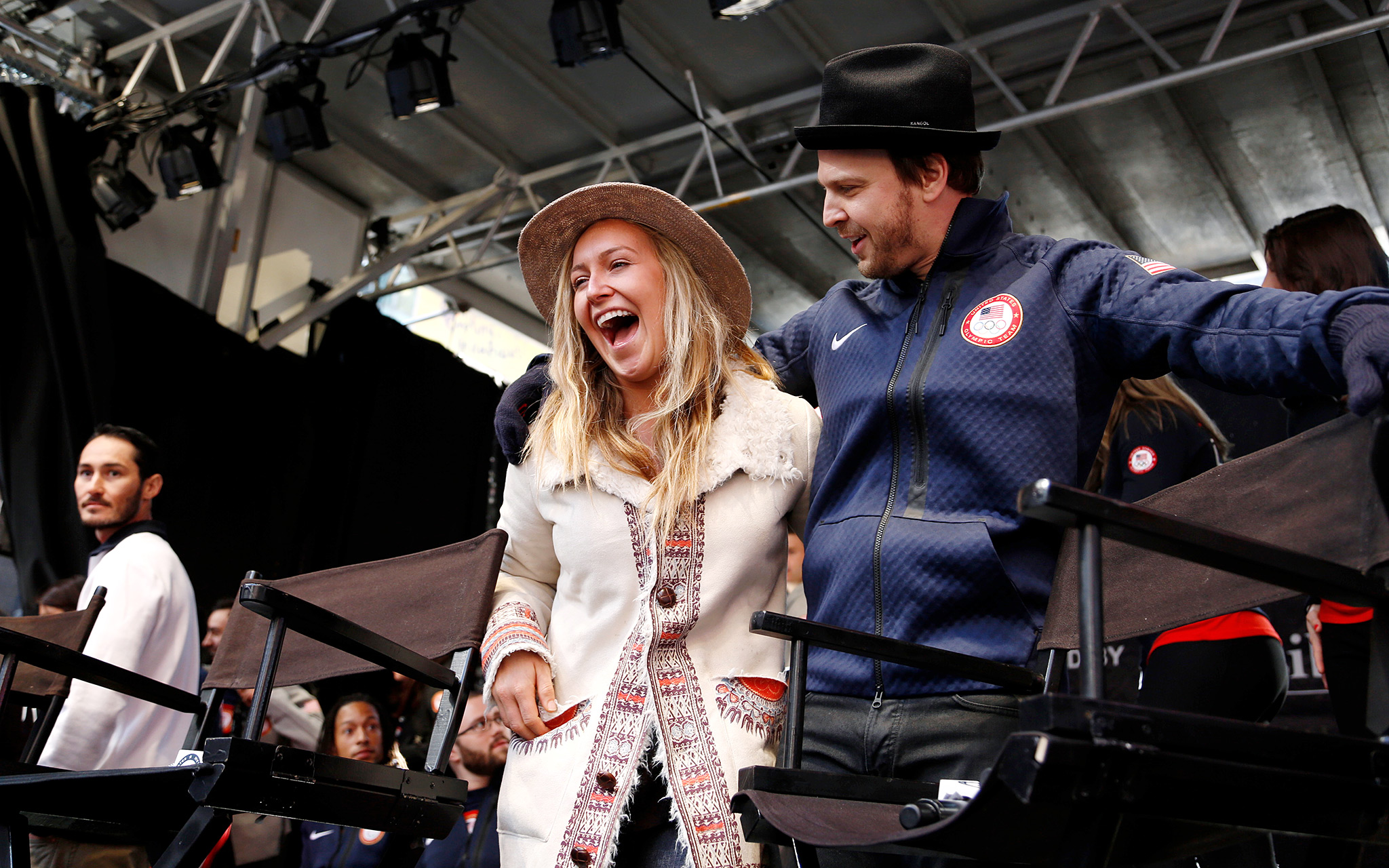 Jamie Anderson and Gavin DeGraw