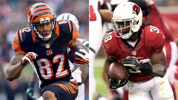 Andre Ellington, Marvin Jones