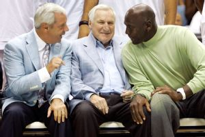 Roy Williams, Dean Smith, Michael Jordan