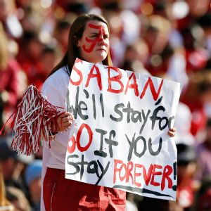 Alabama Fan Sign