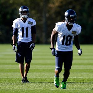 Percy Harvin and Sidney Rice