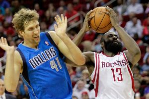 James Harden, Dirk Nowitski