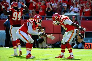 Tamba Hali and Justin Houston
