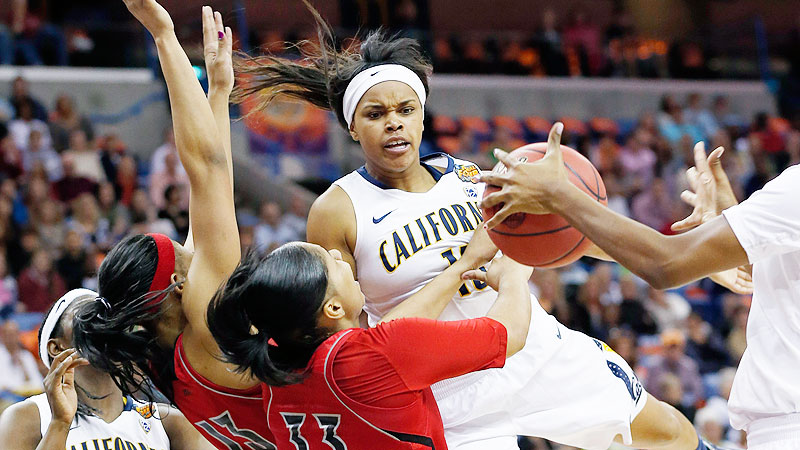Last year's Final Four entrant hasn't exactly stumbled, but the Bears aren't having an easy time of it. There was a surprising road loss at George Washington, a blowout loss to Connecticut last week, and then too-close-for-comfort wins against Idaho and Pacific. The Bears are without one of their best players -- forward Gennifer Brandon took a leave for personal reasons in November -- and might have to fight hard to finish in their predicted second place in the Pac-12. -- Michelle Smith (Photo: AP Photo/Dave Martin)