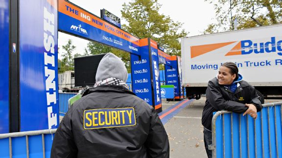 NYC Marathon Security