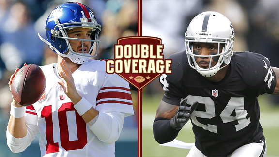 Double Coverage: Raiders at Giants