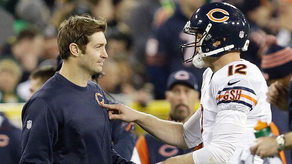 Since filling in for Jay Cutler, Josh McCown has thrown for 1,809 yards and 13 touchdowns.