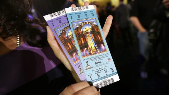 Super Bowl XLVII tickets