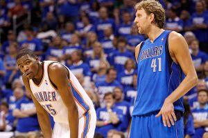 Kevin Durant, Dirk Nowitzki