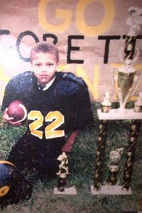 Tyrann Mathieu's athletic ability was recognized by his mother as early as age 5.