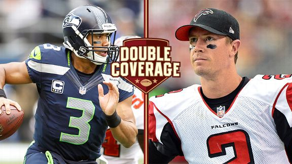Russell Wilson and Matt Ryan