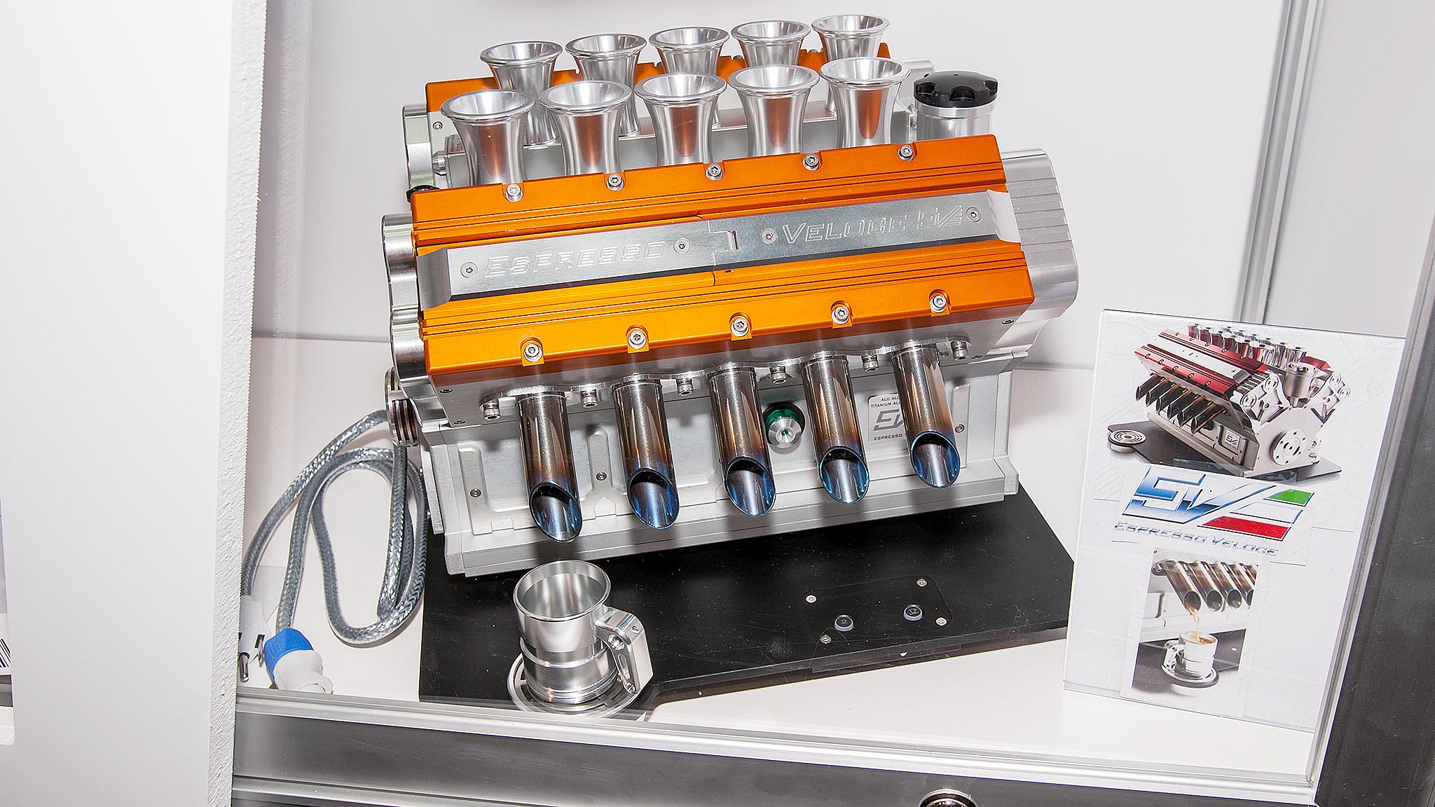 Espresso Veloce machine