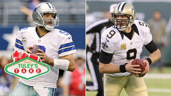 Tomy Romo, Drew Brees