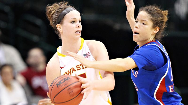 The Cyclones, picked to finish sixth in the Big 12, are undefeated heading into conference play for only the third time in program history. But Hallie Christofferson (pictured) and Iowa State -- the only team in the Big 12 with five players averaging double-figure scoring -- played just one ranked team during the nonconference season. The degree of difficulty is about to soar in the Big 12. -- Michelle Smith (Photo: Jim Cowsert/USA TODAY Sports)