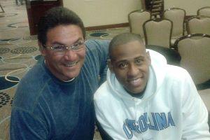 Ron Rivera and Cedric King