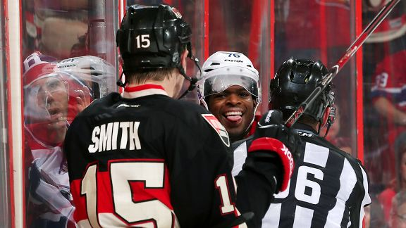 P.K. Subban, Zack Smith, Mark Wheler