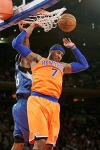 Carmelo Anthony, Dante Cunningham