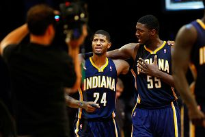 Roy Hibbert, Paul George