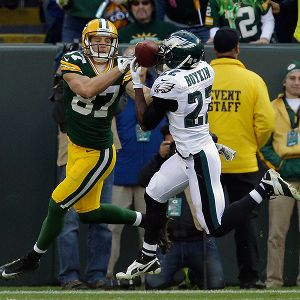 Brandon Boykin and Jordy Nelson