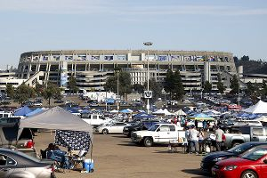 Qualcomm Stadium parking lot