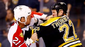 Shawn Thornton and Krys Barch
