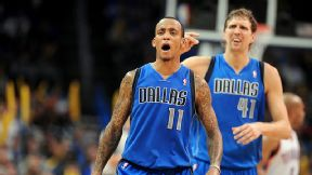 Monta Ellis and Dirk Nowitzki