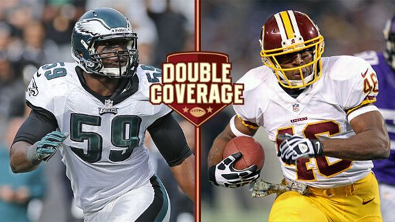 Double Coverage: Redskins at Eagles